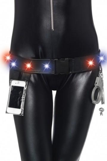Kit Police Ceinture Lumineuse LED et Menottes