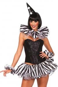 Kit Costume Arlequin Sexy