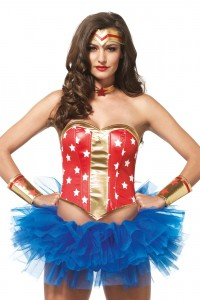 Kit Costume Wonder Woman