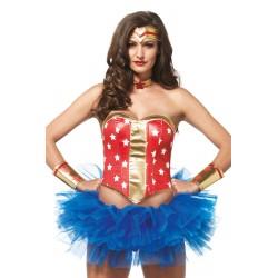 Kit Costume Wonder Woman