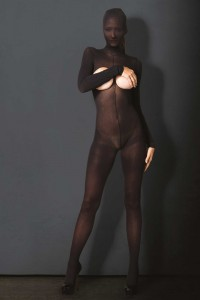 Combinaison Zentai Fetish Opaque Collection Kink Leg Avenue