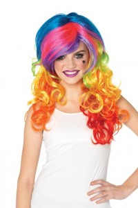 Perruque Flashy Rainbow