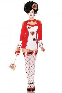 Costume Poker Girl As de Cœur