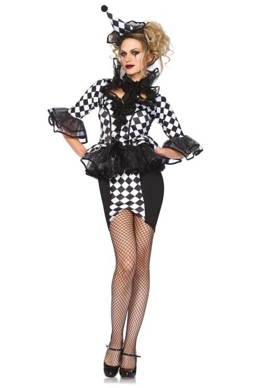 costume femme arlequin chic sexy. Black Bedroom Furniture Sets. Home Design Ideas