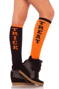 Chaussettes Halloween Trick or Treat