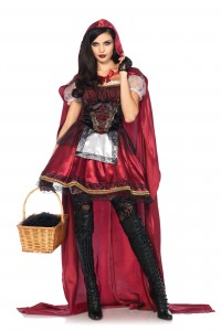 Costume Luxe Petit Chaperon Rouge