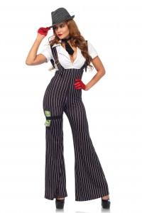 Costume Gangster Femme by Leg Avenue