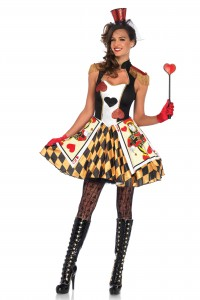 Costume Reine Coeur Leg Avenue