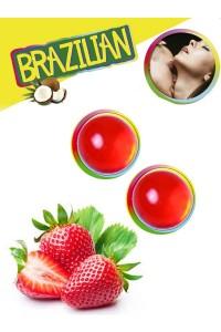 Boules Brésiliennes Fraises