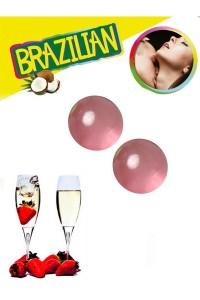 Boules Brésiliennes Champagne Fraises