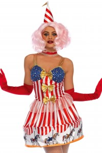Costume Manège Carrousel Clown Sexy