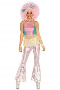 Costume Sirène Disco Sirène