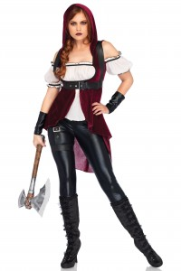 Costume Chasseuse Rebelle Gothique