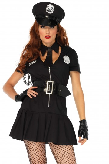 Costume Femme Police Sexy 6 Pièces