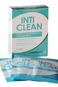IntiClean Lingettes Nettoyantes Intimes