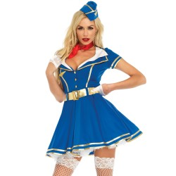 Costume Hôtesse de l'Air Sexy