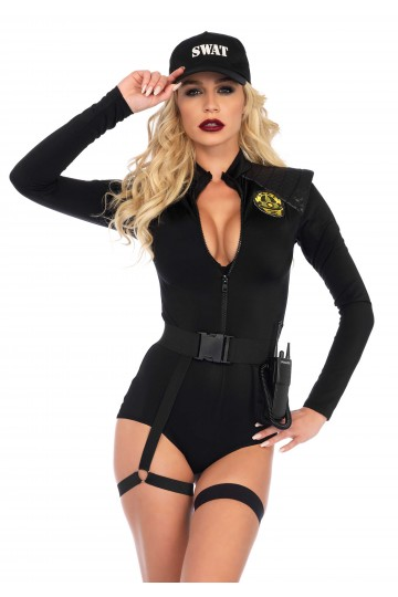 Costume Sexy Police Swat