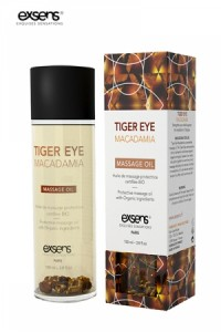 Huile Massage BIO Oeil de Tigre Macadamia