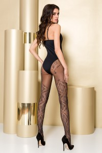 Collants Ultra Chic Motifs Gold Collection Passion