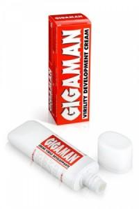 Crème Virile Développante Gigaman by RuF