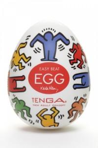 Oeuf Tenga Masturbateur Homme Design Egg DANCE by Keith Haring
