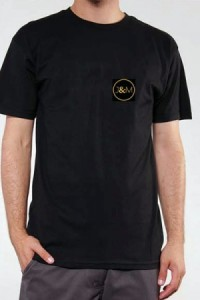 T Shirt Noir Officiel Jacquie & Michel