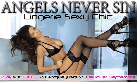 Promo sur toute la marque Sexy Chic Angels Never Sin