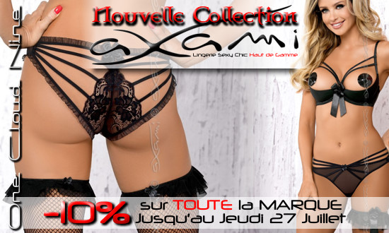 Nouvelle Collection Axami Lingerie Sexy Chic en Promo