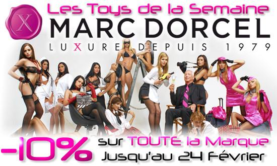 Promo sur TOUTE la Marque Marc Dorcel :-)