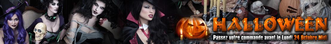 Commandez Vite vos Costumes pour Halloween !