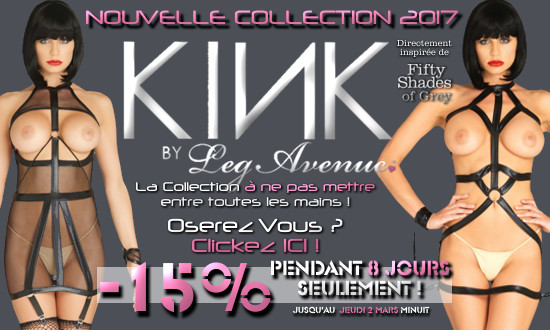 Nouvelle Collection Kink Leg Avenue en Promo !