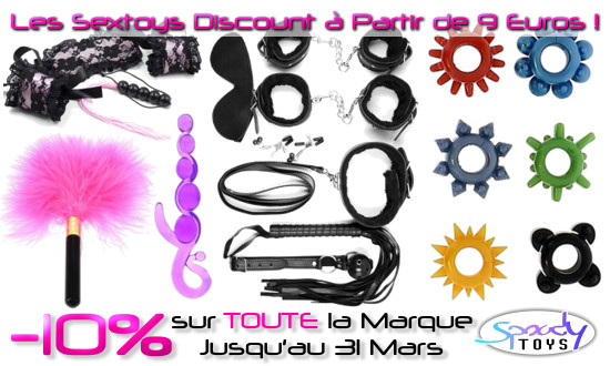 Promo sur Tout les Sextoys Discount Spoody Toys