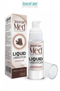 Lubrifiant Effet Vibrant Chocolat 30ml Amoreane Med