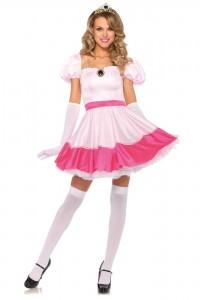 Costume Taille S ( 36 ) Rose Princesse Sexy Leg Avenue