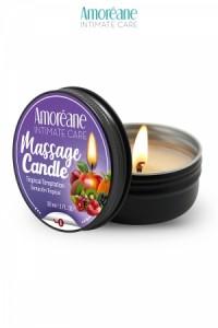 Bougie de Massage Fruit Exotique Amoreane Med