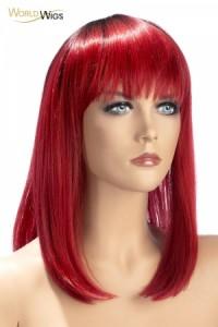 Perruque Rouge Elvira World Wigs