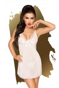 Nuisette et string Casual seduction Blanc Penthouse