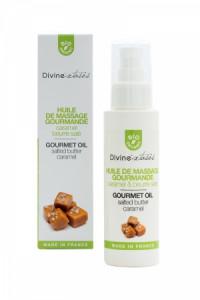 Huile de Massage Gourmande Caramel Bio Divinextases