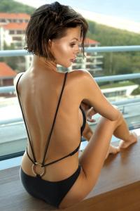 Maillot de Bain Sexy Chic 1 Pièce Mauritia Obsessive