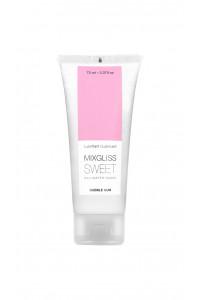 Lubrifiant 70 ml Mixgliss eau Sweet Bubble Gum Mixgliss