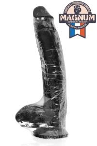 Gode Géant Ventouse Noir 31.5x6.3 cm Belgo-Prism