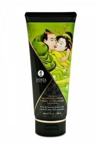 Crème Massage Délectable Poire et Thé Vert Exotique Shunga