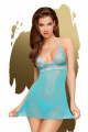 Nuisette Sexy Turquoise Bedtime Story