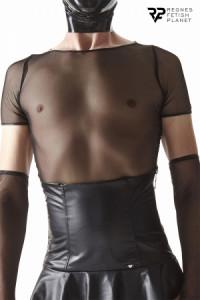 T-shirt Homme Résille Noire Regnes