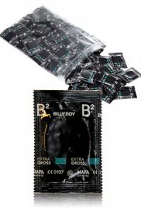 Préservatifs XXL Billy Boy x100