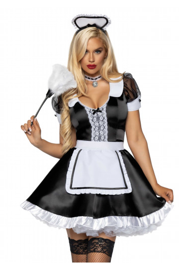 Costume Soubrette French Maid