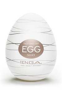 Masturbateur Oeuf Bouche Gourmande pour Homme SILKY by Tenga