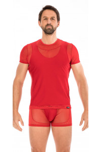 T-shirt Rouge Midnight LOOK ME