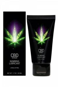 Lubrifiant Retardant CBD et Eau 50ml CBD Cannabis