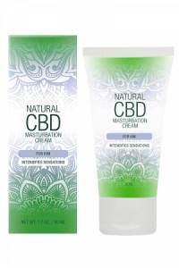 Crème Masturbation Homme au CBD Natural CBD